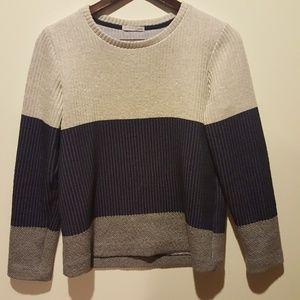 Gorgeous mixed texture Zara sweater